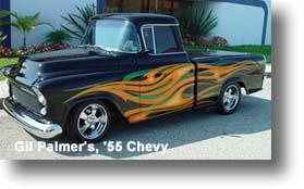 Gil Palmer's, '55 Chevy