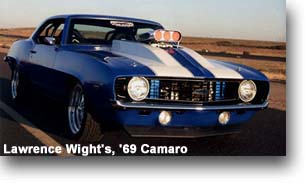 Lawrence Wight's, 69 Camaro