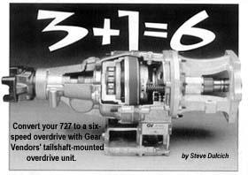Gear Vendors' tailshaft-mounted overdrive unit.