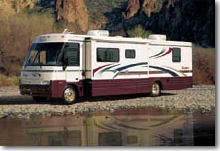 Motorhomes, RV's auxiliary transmissions