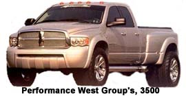 Performance West Group's, 3500 Truck